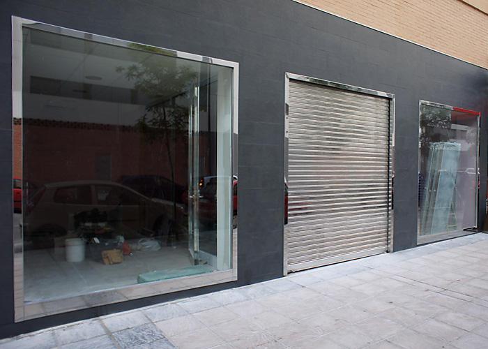 Escaparates de acero inoxidable inoxpuerta puertas de - Perfil acero inoxidable precio ...