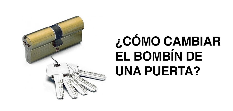 C mo cambiar el bomb n de mi puerta inoxpuerta puertas for Bombin de puerta